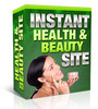 Thumbnail Instant Health And Beauty Site (with MRR)