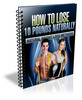 How To Lose 10 Pounds Naturally (with PLR)