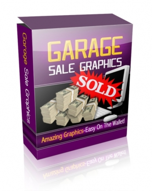 Product picture Garage Sale Graphics (Master Resale Rights)