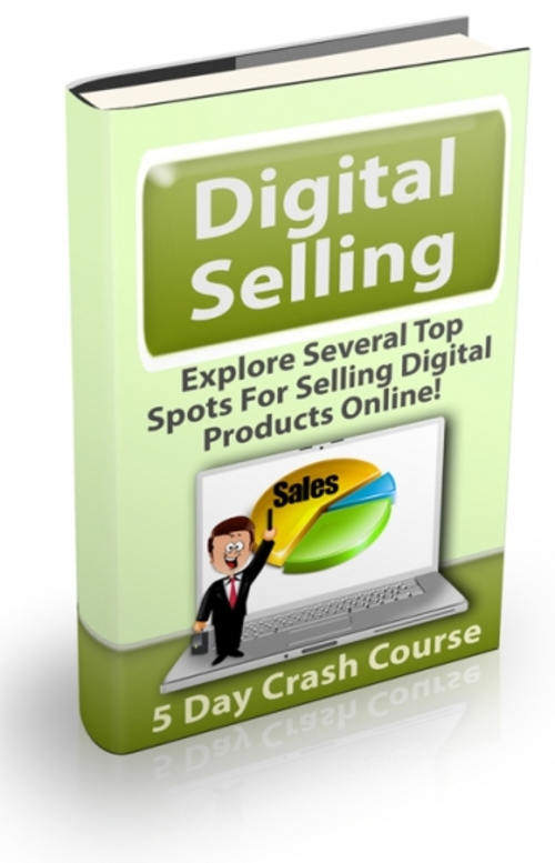 Product picture Digital Selling Course (with Private Label Rights!)