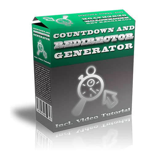 Product picture Countdown and Redirector Generator
