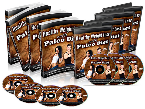 Product picture Healthy Weight Loss With Paleo Diet (with MRR!)