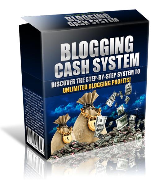 Product picture Blogging Cash System (PLR license)
