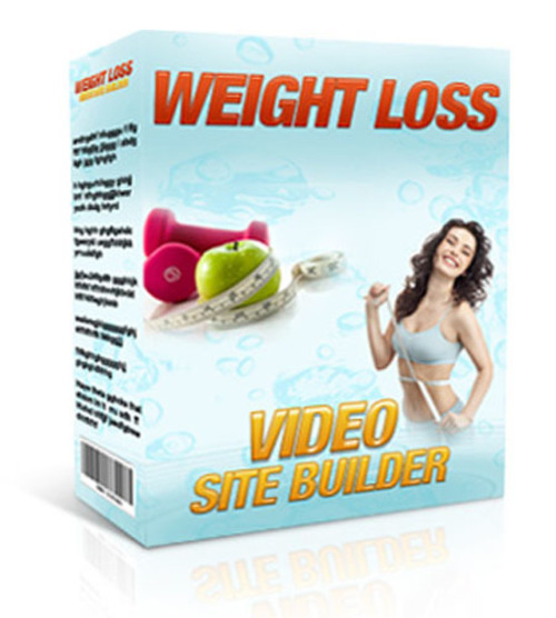 Product picture Weight Loss Video Site Builder (MRR license)