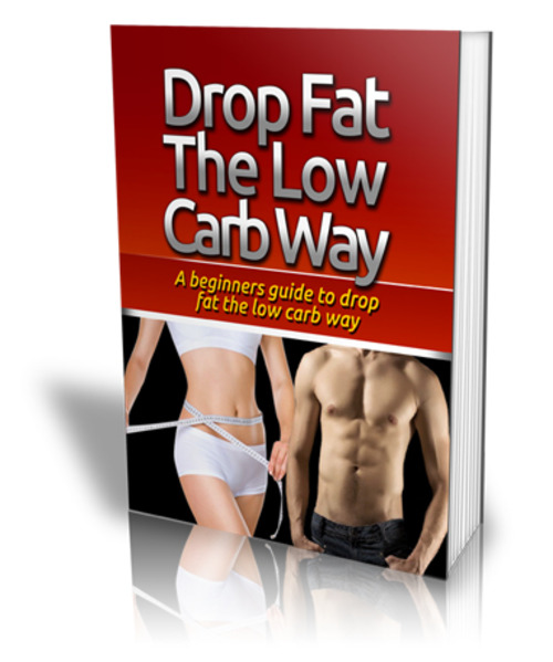 Product picture Drop Fat The Low Carb Way (PLR license)