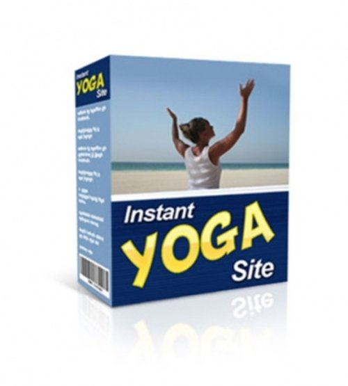 Product picture Instant Yoga Site (with MRR!)