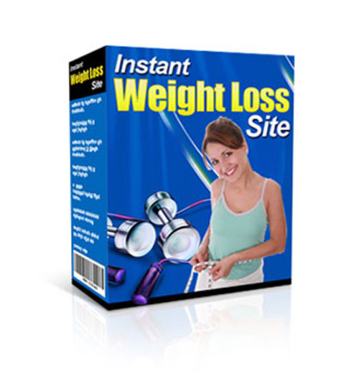 Product picture Instant Weight Loss Site (with MRR)