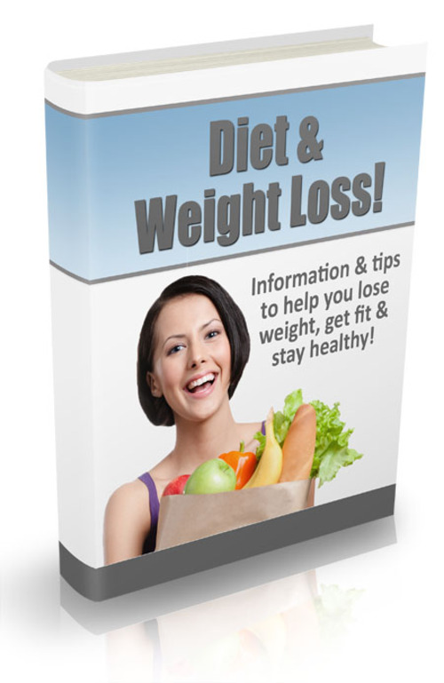 Product picture Diet & Weight Loss Newsletter (with PLR)