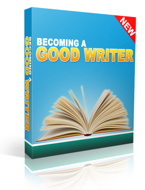 Product picture Become a Good Writer (with PLR)