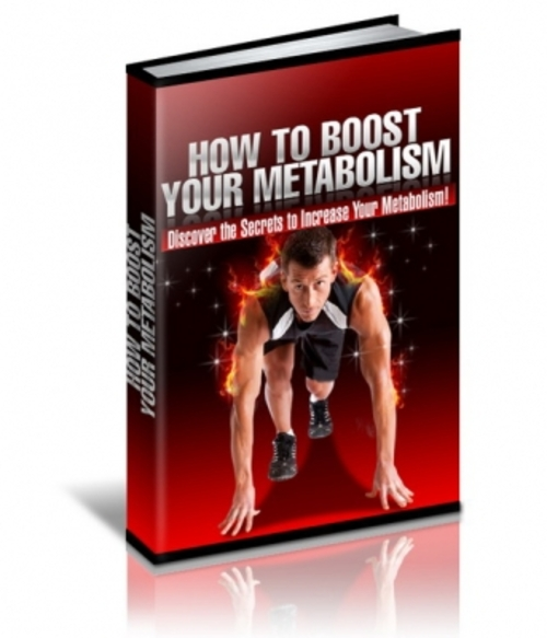 Product picture How To Boost Your Metabolism (with PLR)